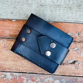 Кожаный кошелёк с фирменным дизайном Crane Studio