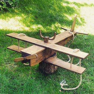 Качеля-літак; качеля-самолет