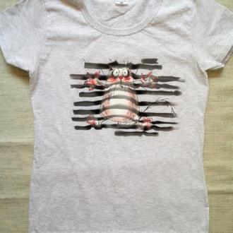Жіноча футболка з принтом