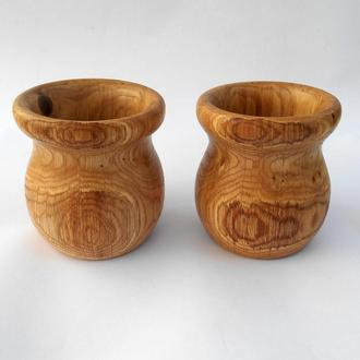 Декоративные вазы из дуба