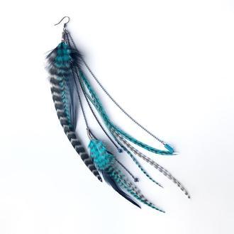 Моно серьга Turquoise