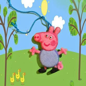 Свинка Джордж из мульт. сериала Свинка Пеппа