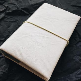 Блокнот в стиле Midori. Белый