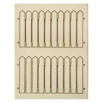 Чипборд Забор 5,5х10 см 2 шт.