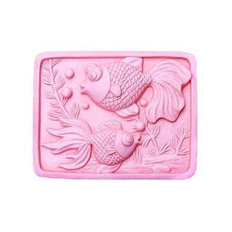 Форма для мыла силиконовая Рыбки