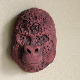 Горилла маска на стену