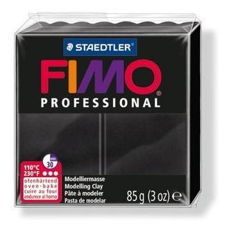 Глина полимерная FIMO Professional 85г черная 8004-9