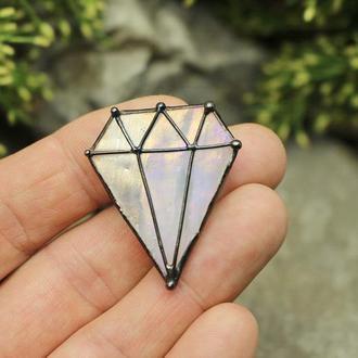 Брошь бриллиант