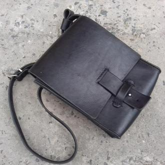 Шкіряна сумка-планшет