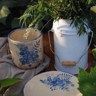 Чайный набор чашка+блюдце
