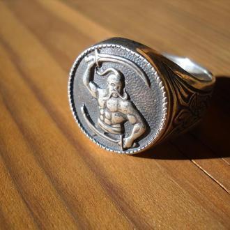 Перстень ′КОЗАК′ (срібло)