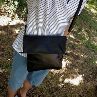 Кожаная сумка. Мужская сумка. Сумка из кожи. Сумка ручной работы.