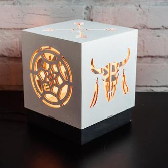 Лампа-світильник ручної роботи