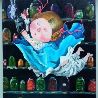"""Картина """"Алиса в стране чудес"""""""