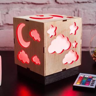 Лампа-світильник  з RGB лампою