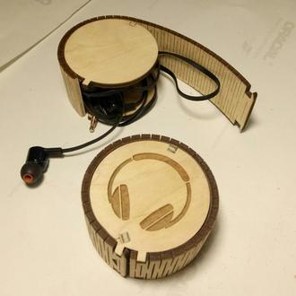 Чехол-коробочка для наушников