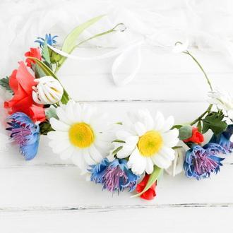 Цветочный венок Украинский