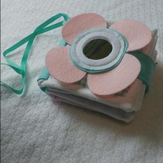 Розвиваюча книжечка текстильна
