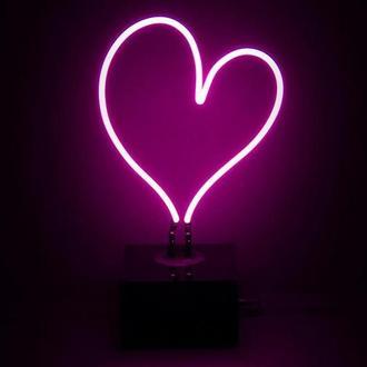 """Неоновый светильник """"Сердце"""""""