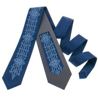 Модный вышитый галстук №799