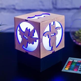 """Нічник """"Лего Бетмен"""" з RGB лампою"""