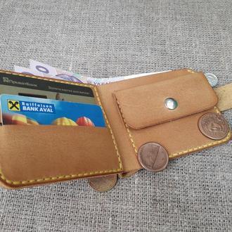 Компактный кошелек из натуральной кожи K29-180