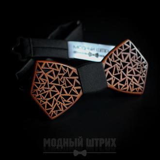 "Галстук бабочка деревянный ""SPLINTER"""