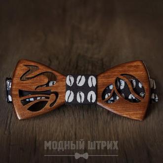 "Деревянная бабочка ""Coffee"""