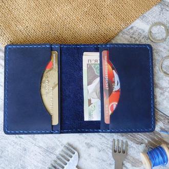 гаманець шкіряний  портмоне  для карт и купюр из натуральной кожи