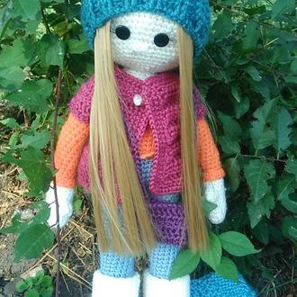 Кукла амигуруми Даша