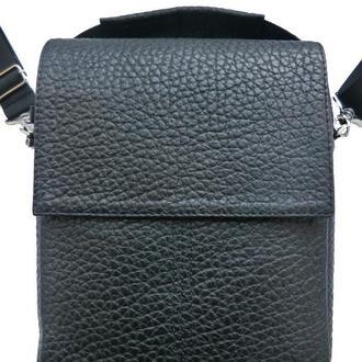 Кожаная сумка из фактурной кожи