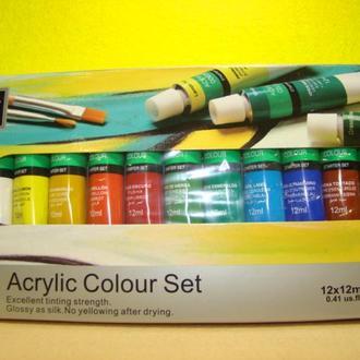 набір акрилової фарби