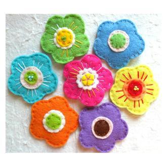 заколка для малышей, цветок