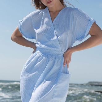 Хлопковое платье 2161