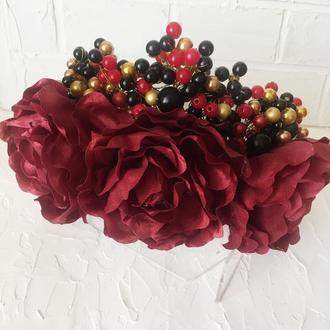 """Корона """"Розы красные"""""""