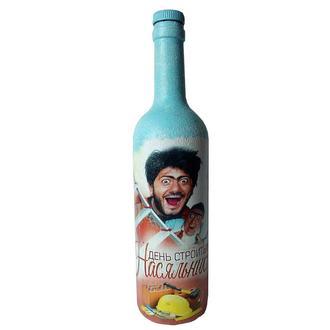 Подарок на день строителя Сувенирная бутылка «Насяльника»
