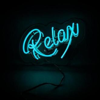 """Неоновая настенная надпись """"Relax"""""""