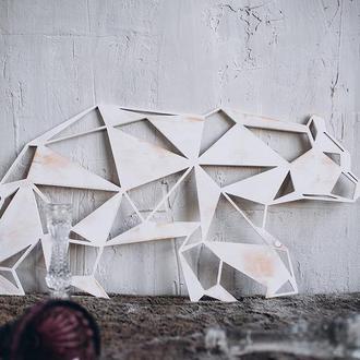 """Декор на стіну """"Ведмідь"""""""