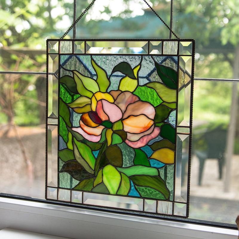 Картинки витраж из стекла