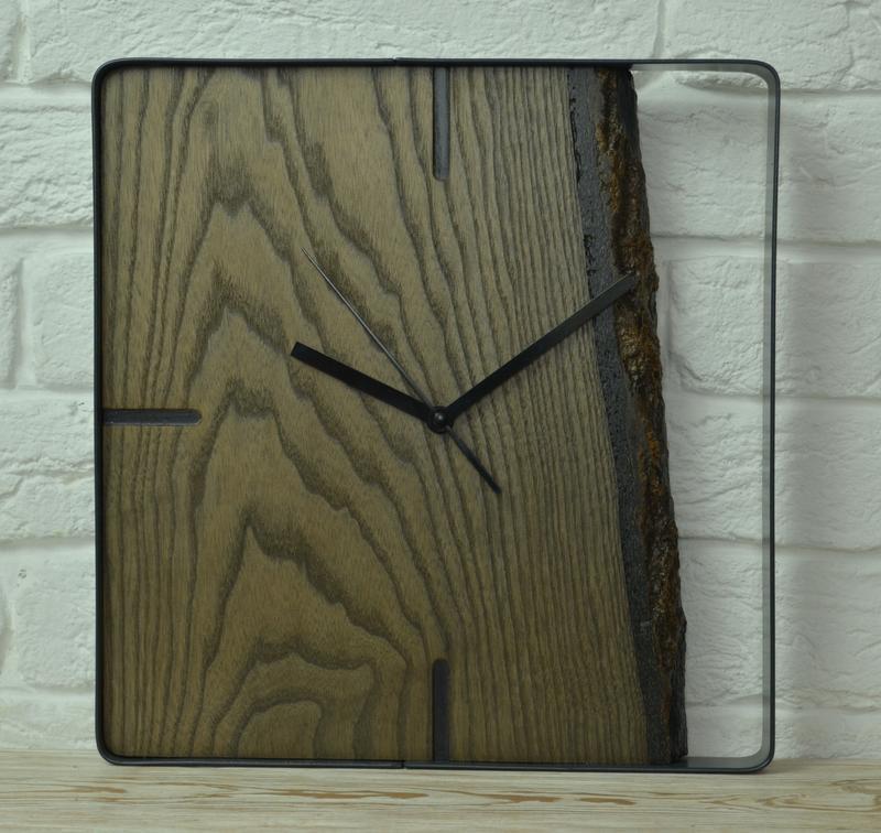 Украшение современного интерьера. Часы LOFT.