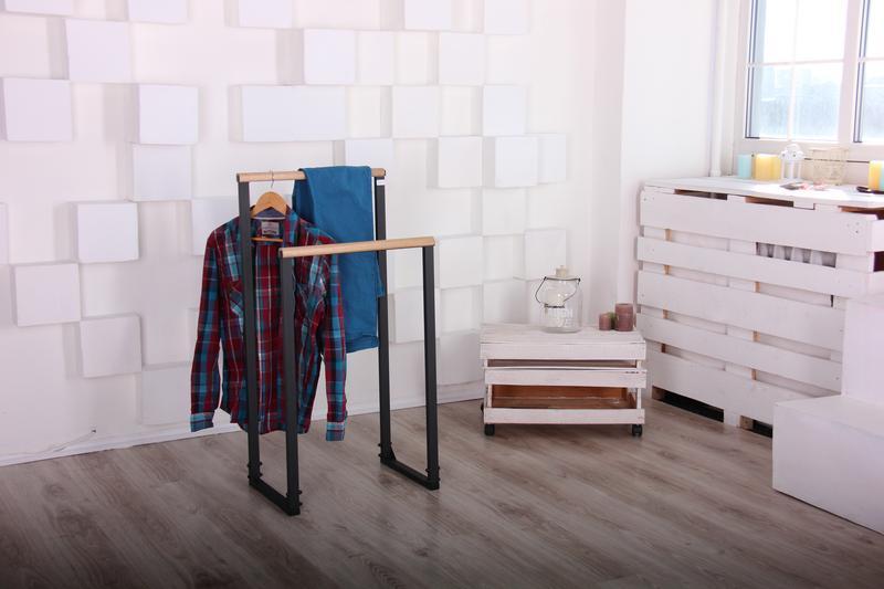 Вешалка прикроватная напольная Smart ЛОФТ для полотенец