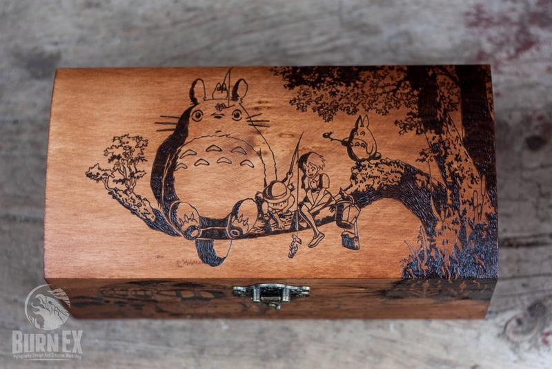 "Шкатулка ""Tonari no Totoro""."