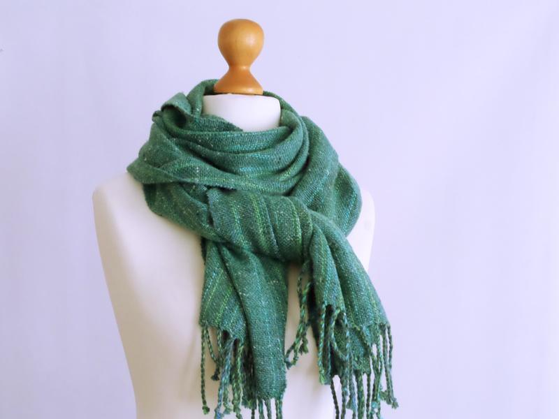 Тканый шарф Боро Боро ткачество/твид