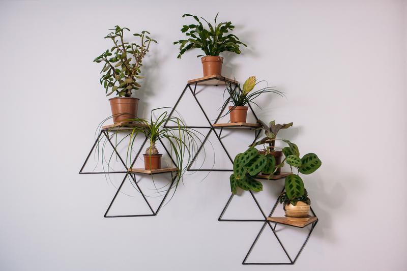 Полки геометрических форм