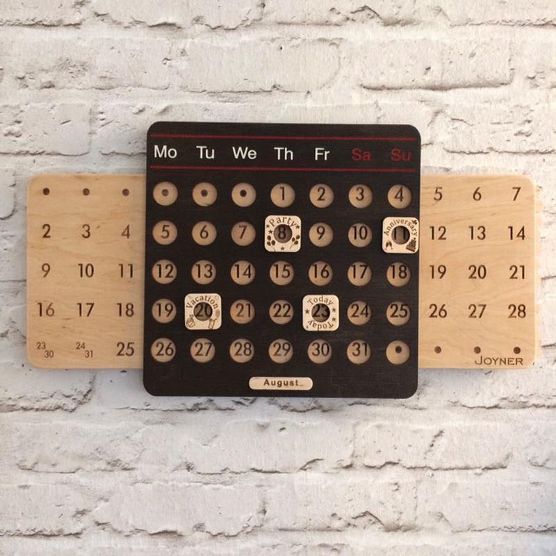 Вічний календар англійською мовою