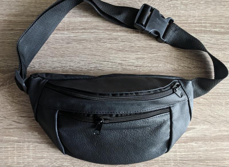 f056530949b3 Стильная бананка, Большая сумка на пояс, и через плечо. натуральная кожа.  универсальный цвет.