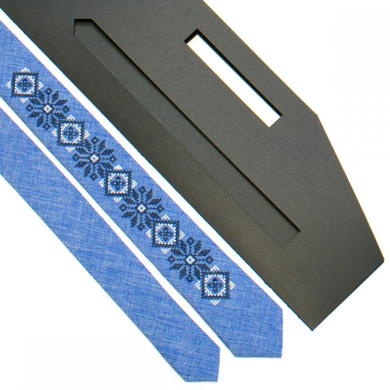 Вузький вишиту краватку №734, Сучасної етно, Подарунок колезі