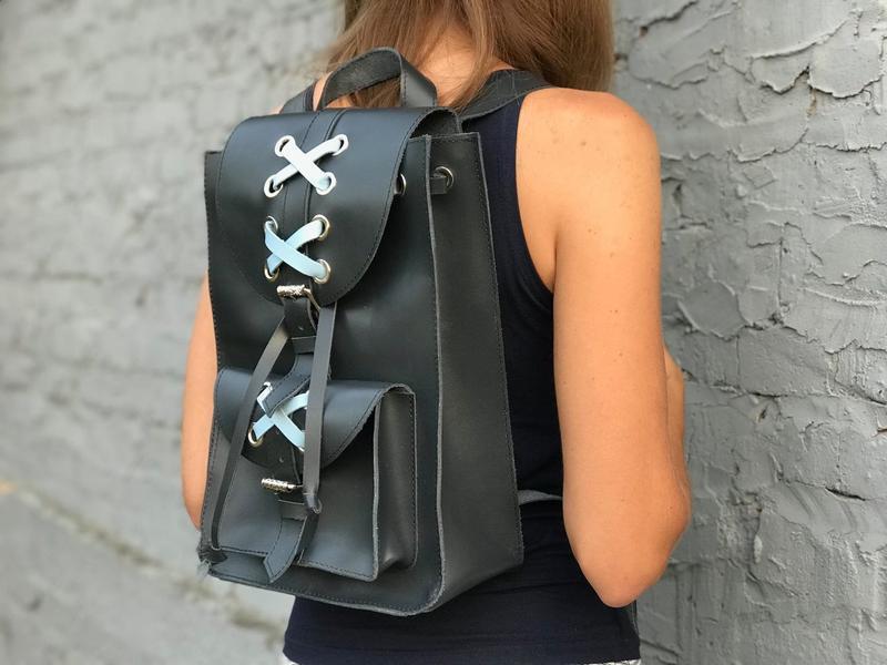 82da034940d5 Женский кожаный городской рюкзак Bonny ручной работы купить в ...