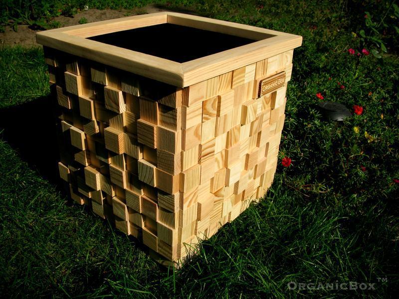 Ящик, кашпо для цветов, Organic Box TM, модель 3D
