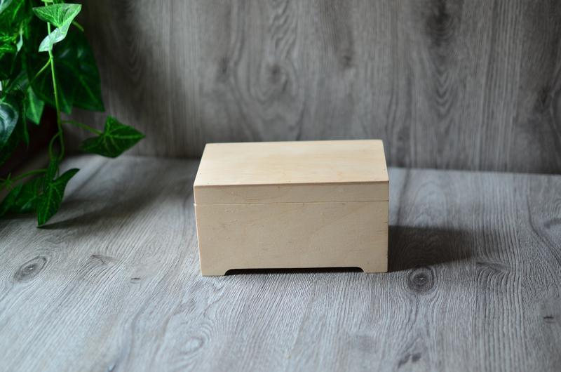 Скринька купюрница заготівля з фанери